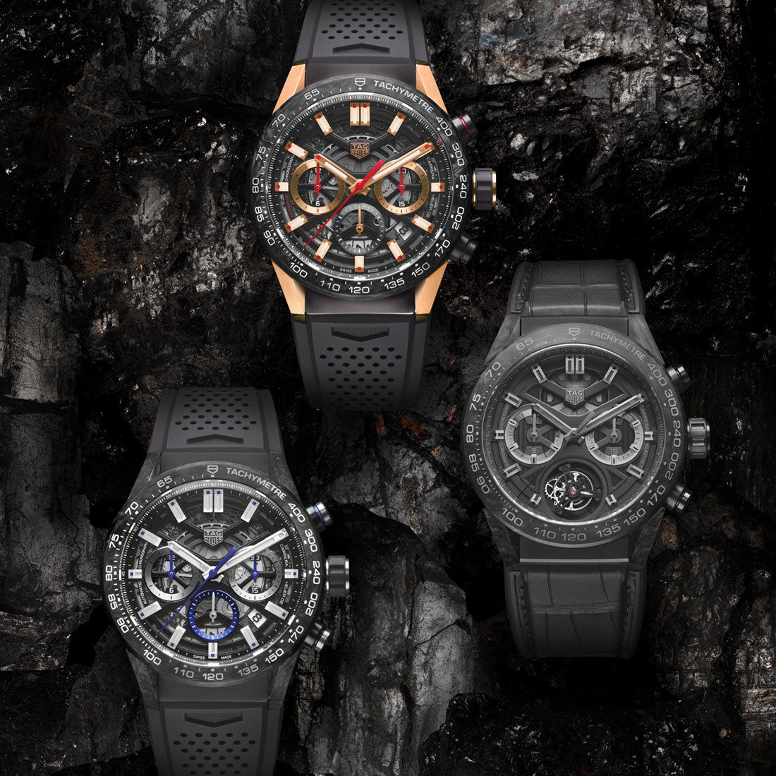 Luxury TAG Heuer Carrera & Heuer 02 Replica Watches