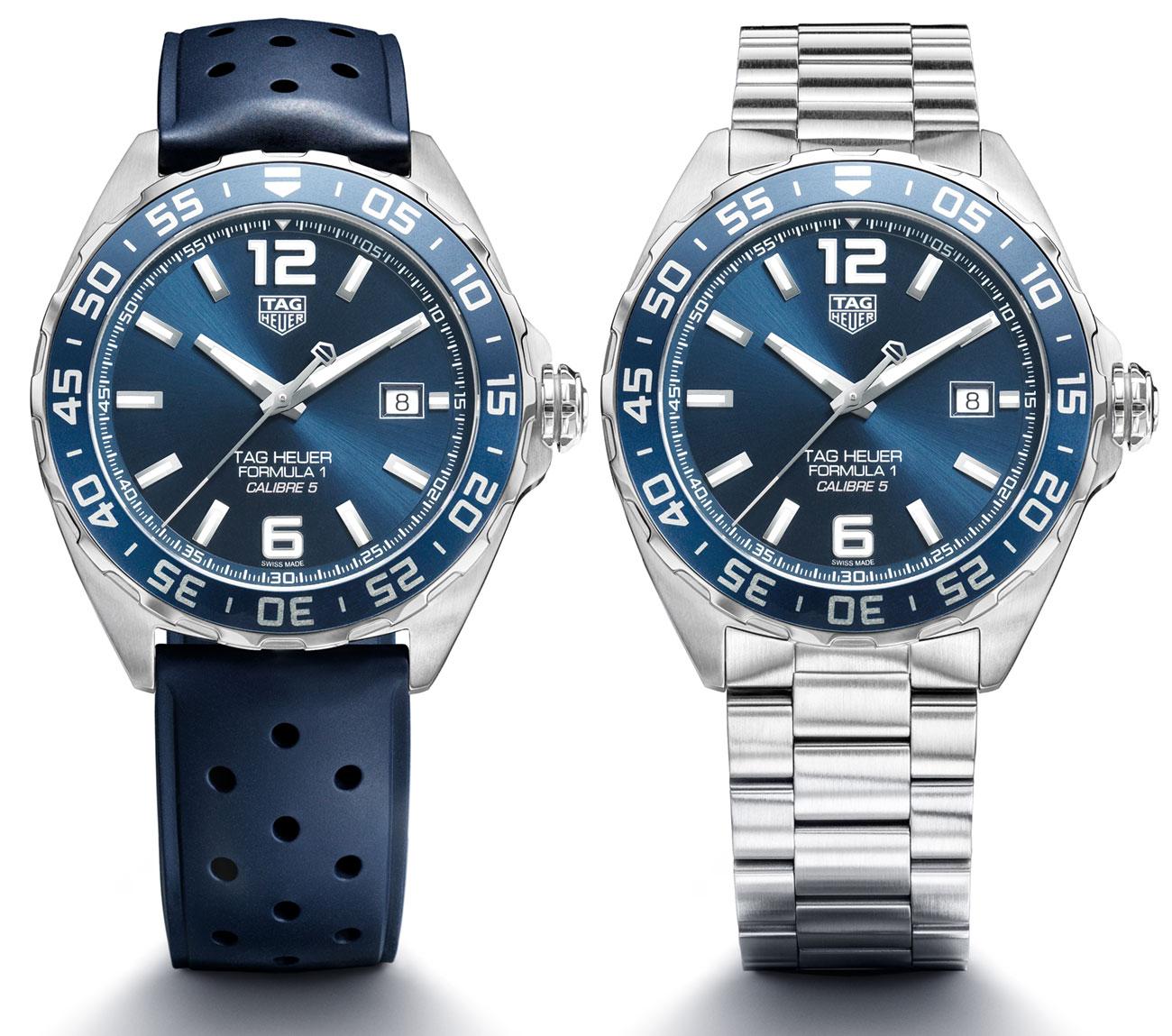 Replica TAG Heuer Formula 1 Bucherer Blue Edition Watch