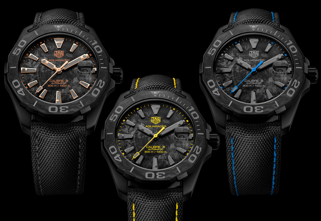 Luxury TAG Heuer Aquaracer Carbon Replica Watches