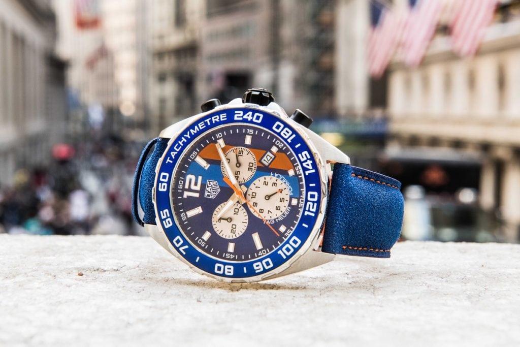 TAG Heuer Formula 1 Gulf Special Edition Replica Watch