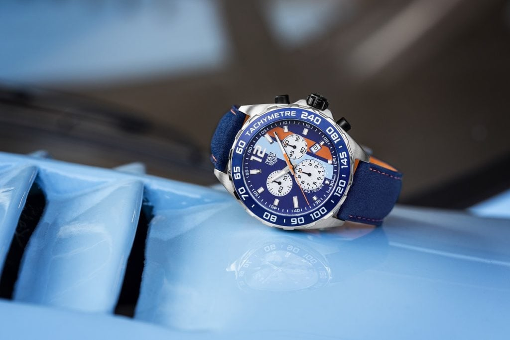 TAG Heuer Formula 1 Gulf Special Edition Replica Watches