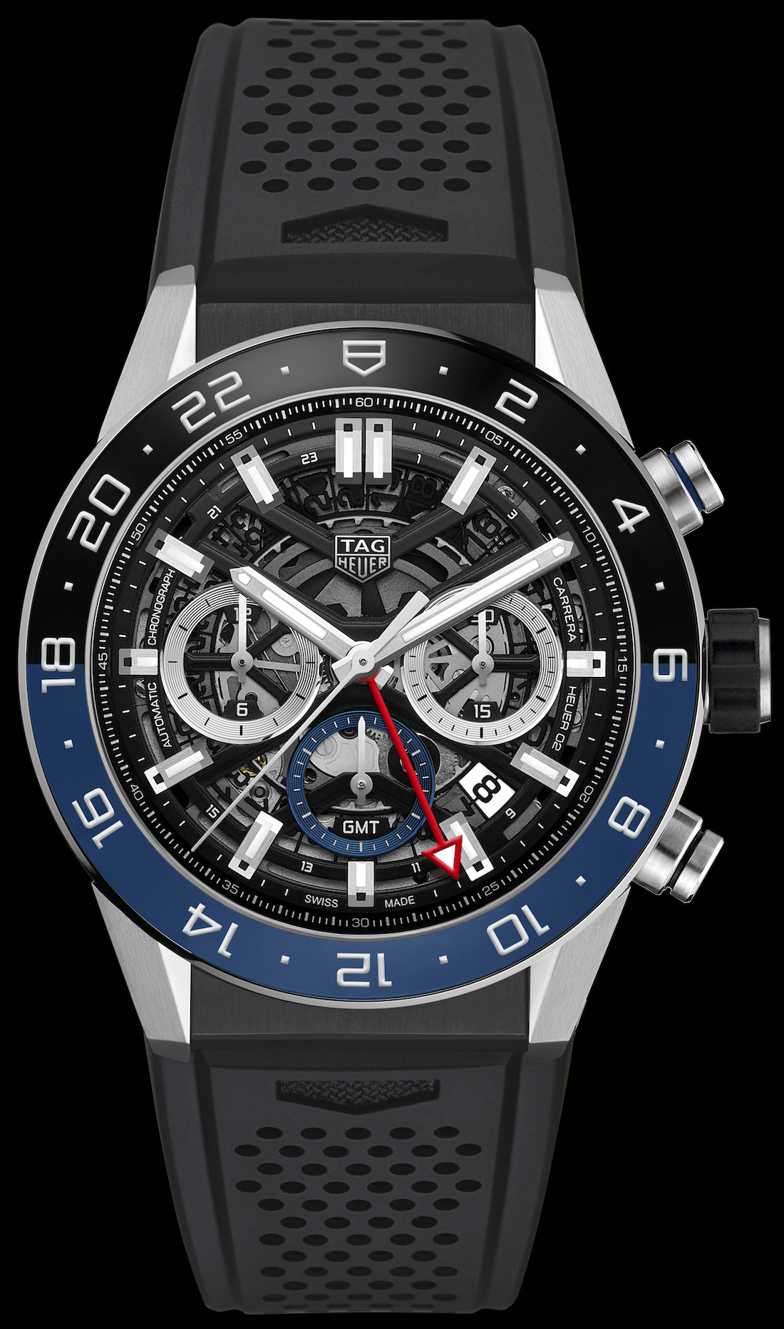 Luxury TAG Heuer Carrera Chronograph GMT Replica Watch