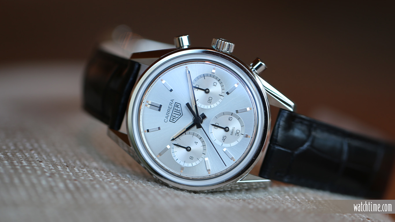 Replica TAG Heuer Carrera Silver Edition