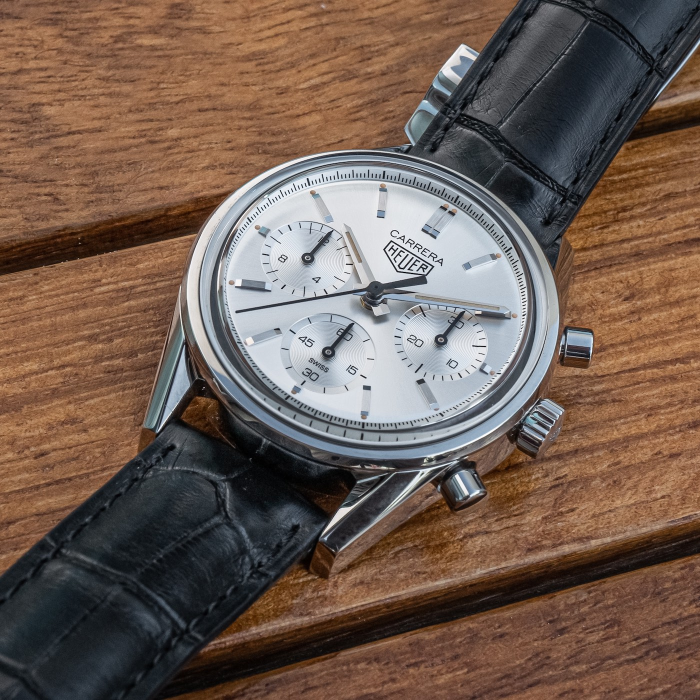 TAG Heuer Carrera Silver Edition Replica Watch