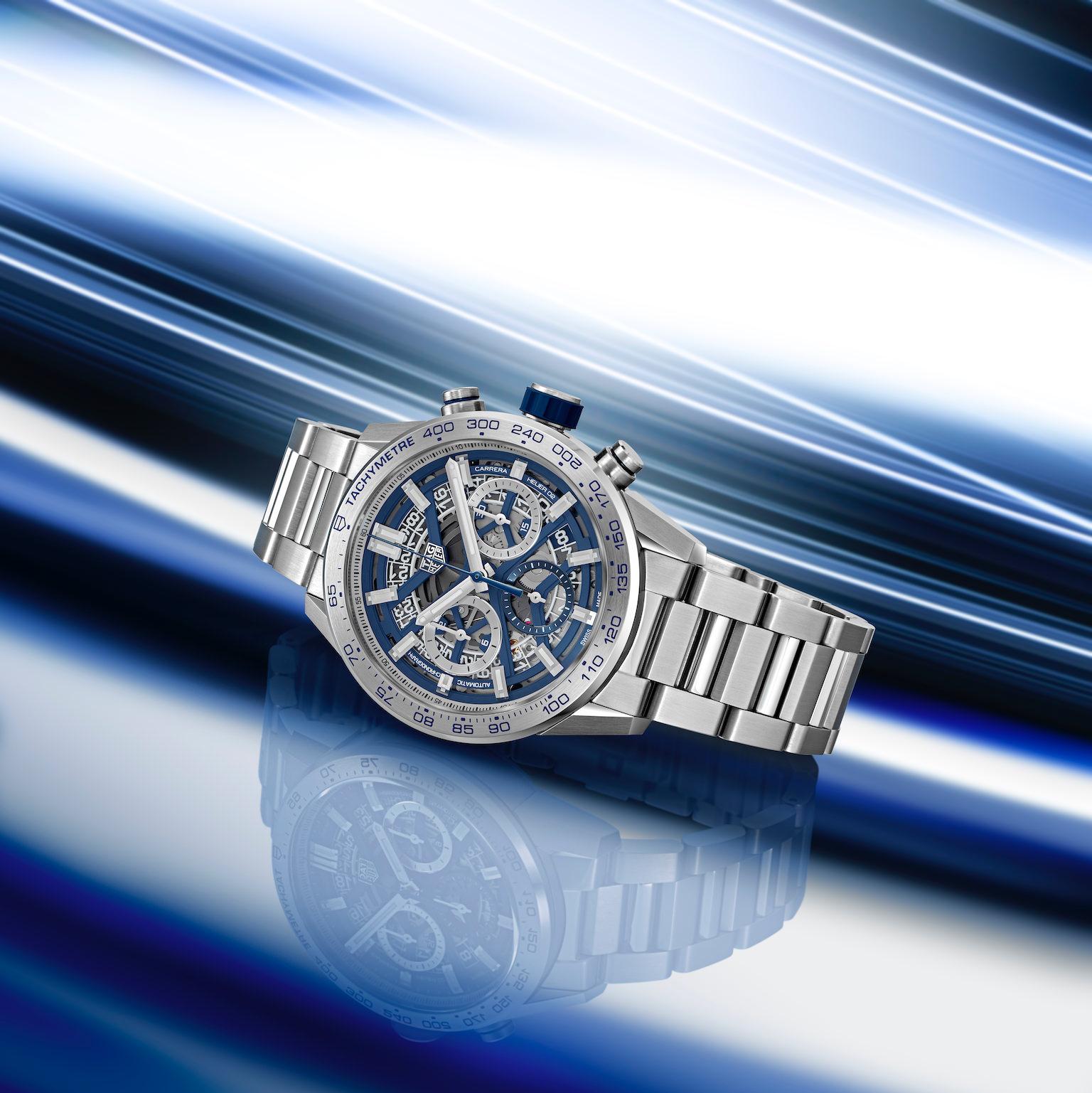 TAG Heuer Carrera Replica Blue Editions