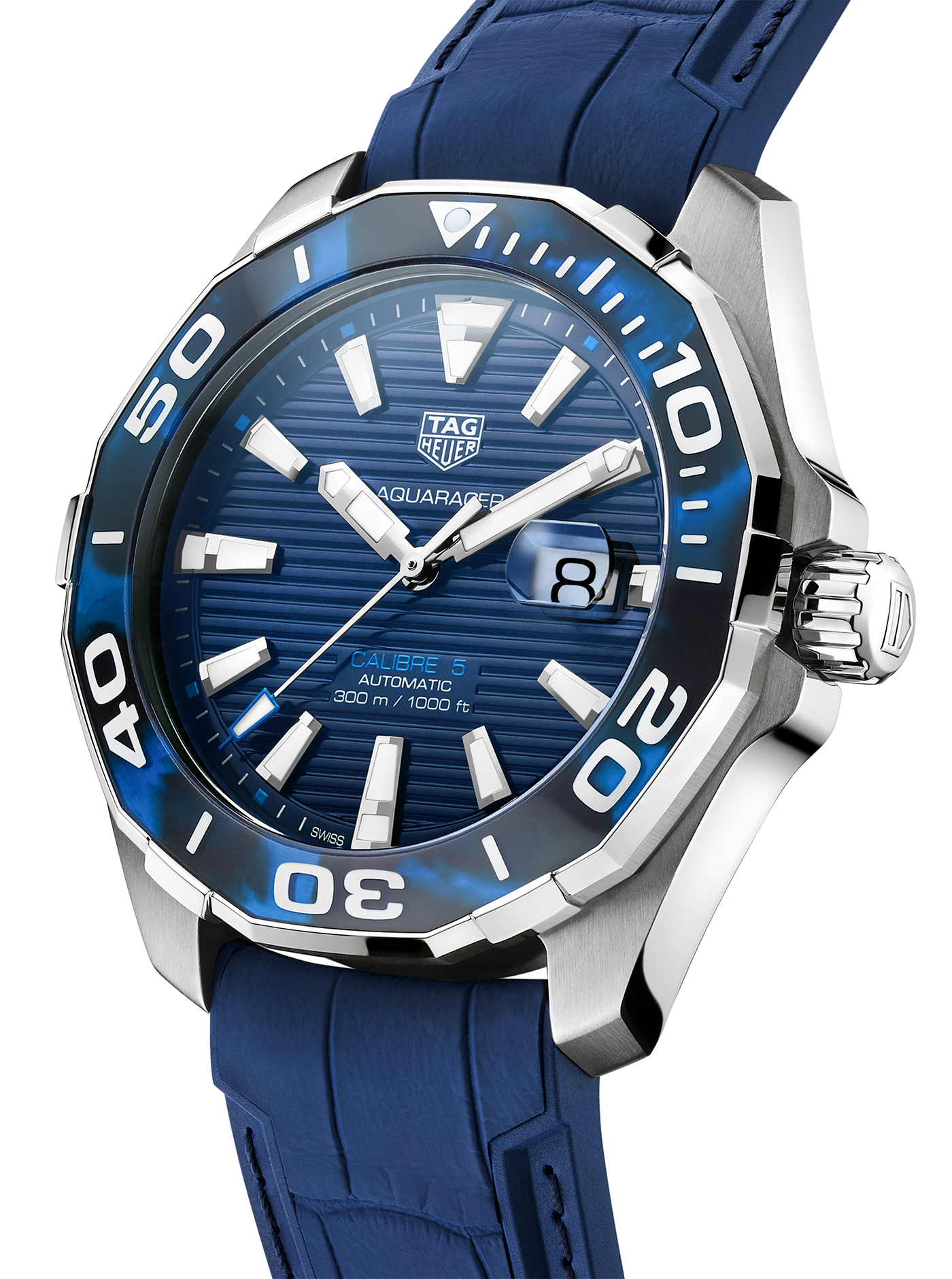 TAG Heuer Special Aquaracer Replica With Tortoise Shell Inspired Bezels