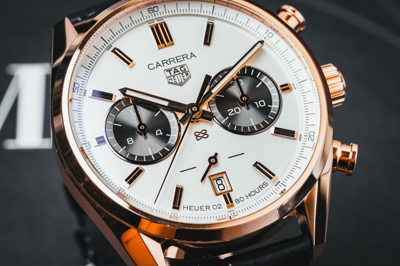 Luxury Tag Heuer Carrera Jack Heuer 88 Gold Replica Watches
